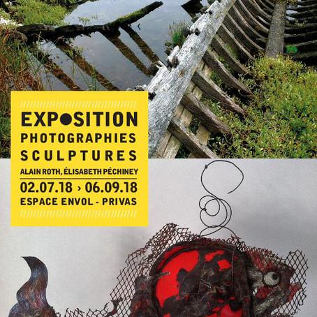 Photographies, sculptures - Alain Roth, Elisabeth Péchiney