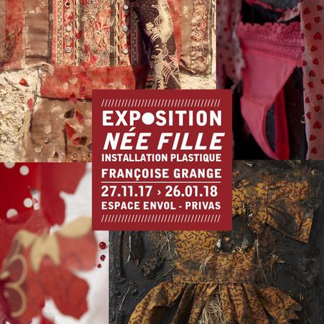 Exposition Née fille – Françoise Grange