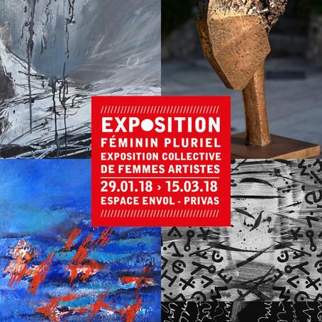 Exposition collective Féminin pluriel