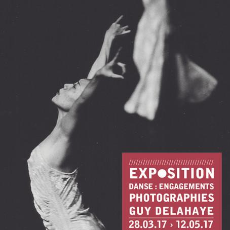 Exposition « Danse : engagements » – Photographies de Guy Delahaye