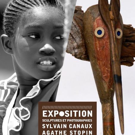 Exposition Sculptures et photographies de Sylvain Canaux et Agathe Stopin – Espace Envol