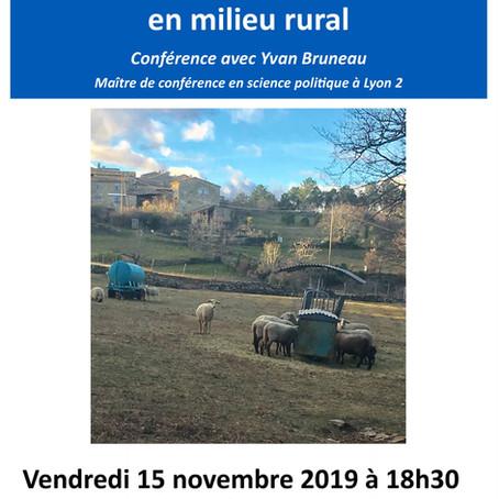 Conférence : Les classes sociales en milieu rural – Carrefour Laïque d'Aubenas