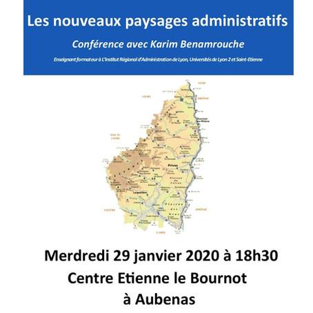 Conférence Carrefour Laïque d'Aubenas