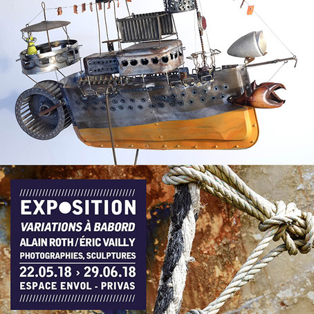 Exposition Variations à babord – Alain Roth et Eric Vailly