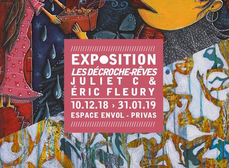 Les Décroche-rêve - Exposition Espace Envol - Juliet C et Eric Fleury