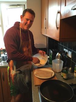 Pancake mixture
