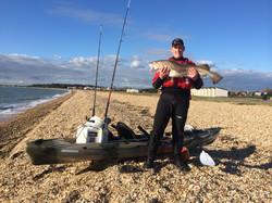 Me and the fishing machine