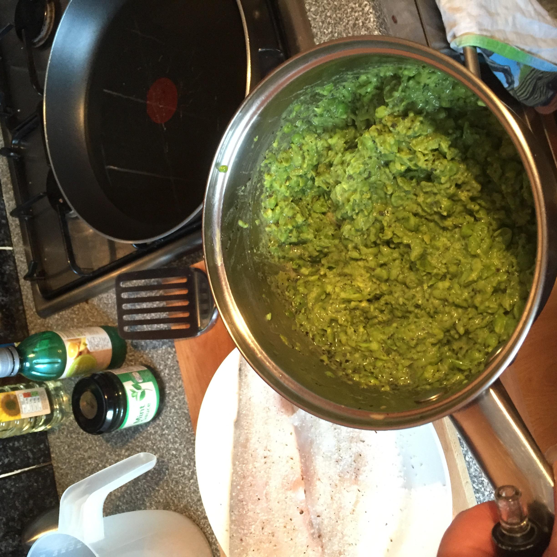 mushy peas with mint