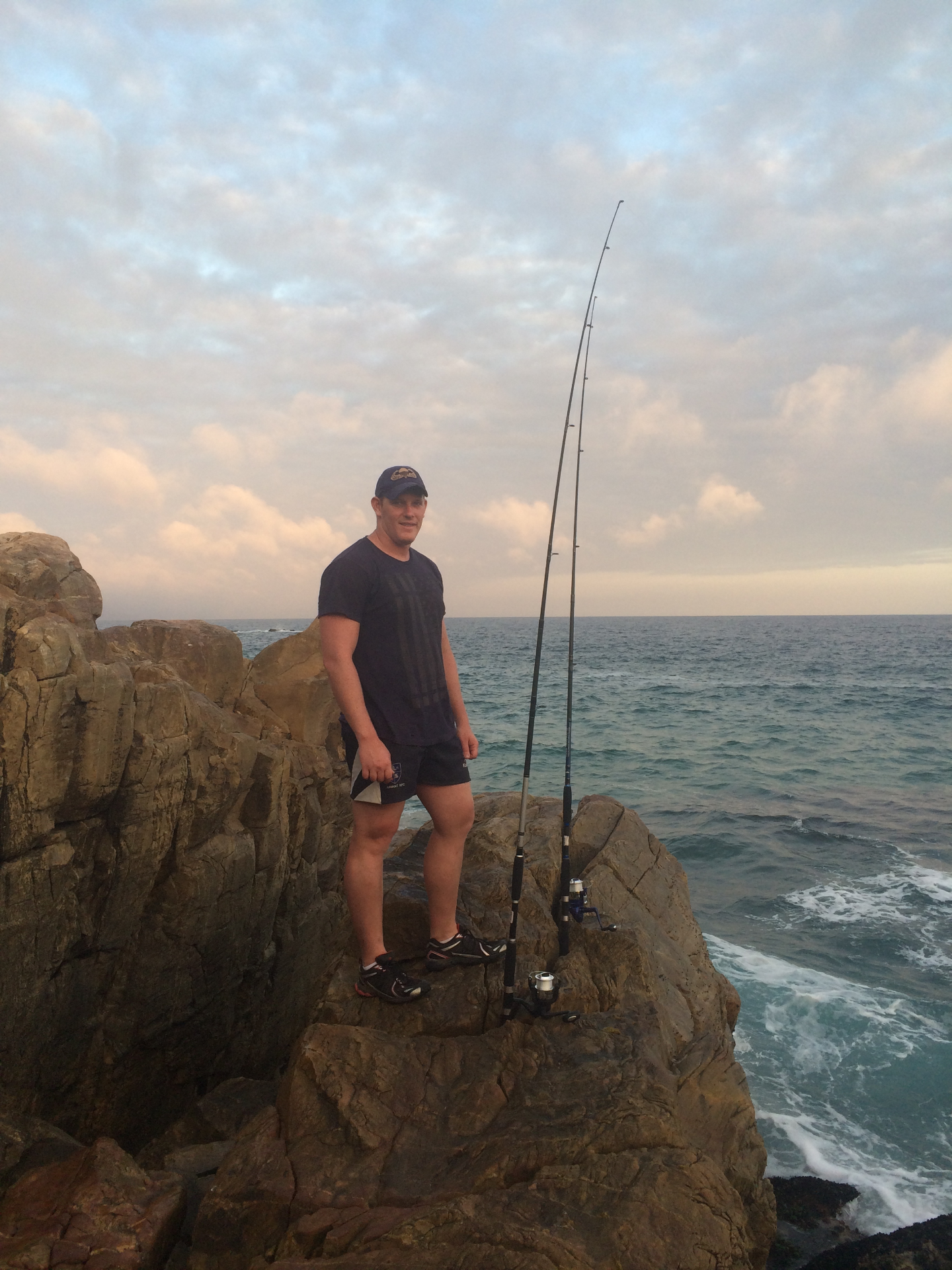 Fishing off the Rocks