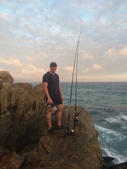 Fishing off the Rocks