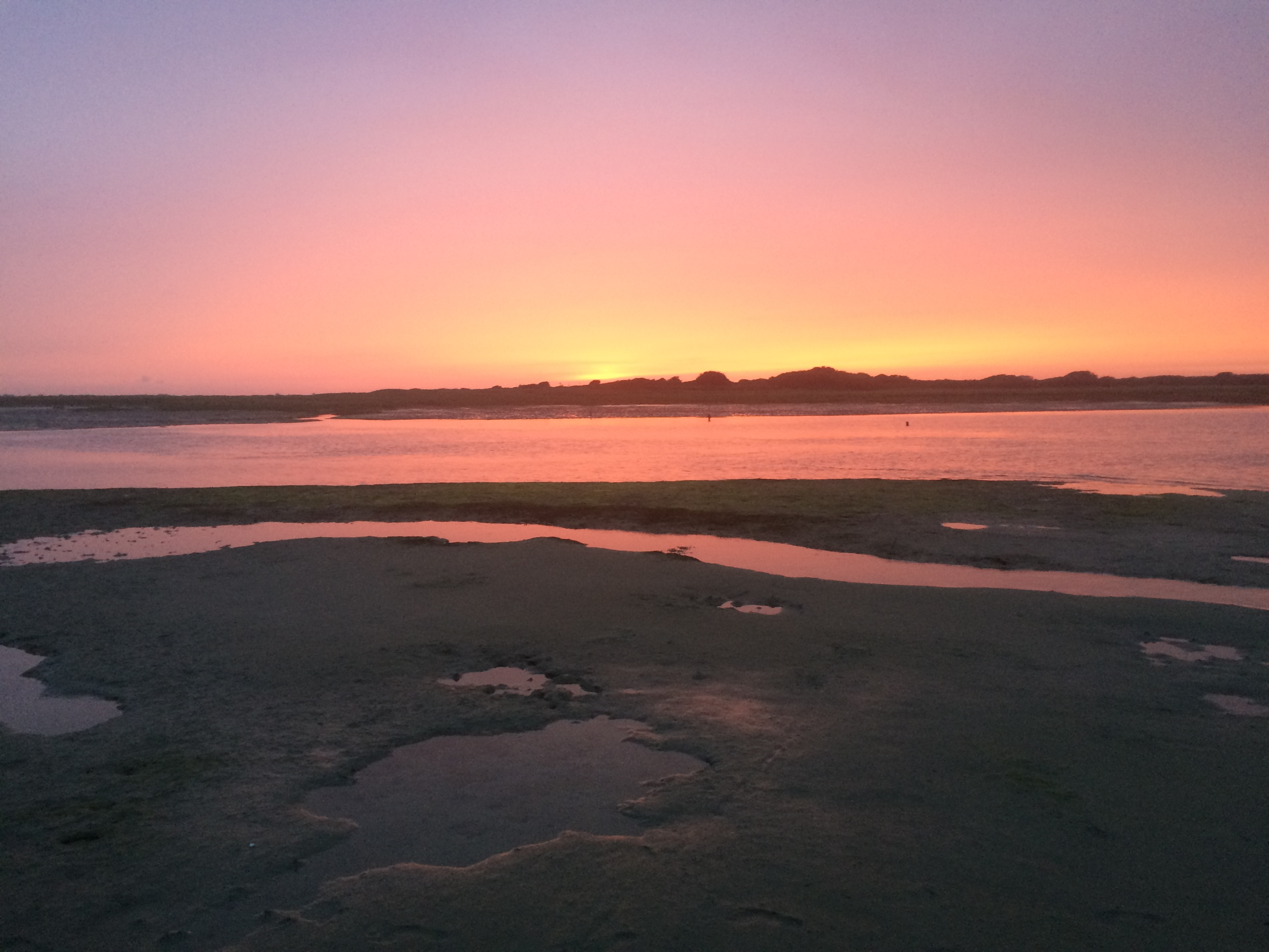 Sunset over Chichester Estuary