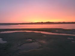 Sunset over Chichester Estuary