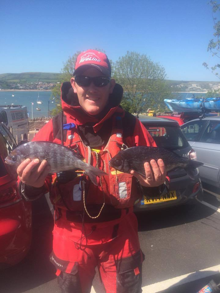 2lb Black Bream from Swanage