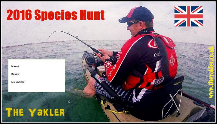 2016 Species Hunt