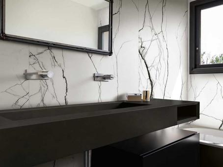 الرخام الأبيض والأسود من فلور غريس B&W Marble by Floor Gres