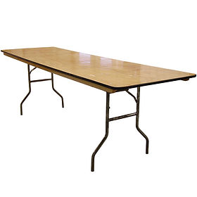 8' Banquet Table jpg