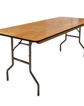 6' x 30'' Wood Banquet Table.jpg