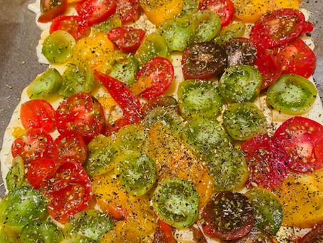 La simplissime tarte à la tomate