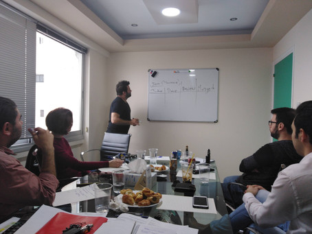 Collective Thinking Underway... ADELVE Hosted The First Collaborators Meeting Regarding Startups - C