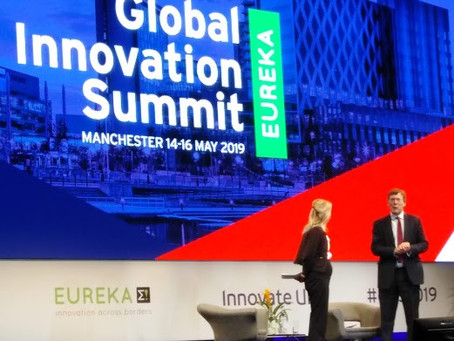 ADELVE attended the EUREKA Global Summit 2019 in Manchester,UK