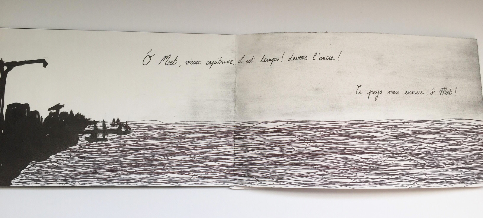 Illustrer Un Poème De Rimbaud Le Voyage