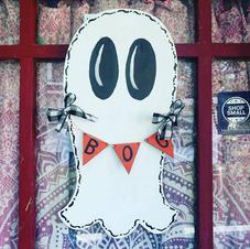Halloween Painted Door Hanger