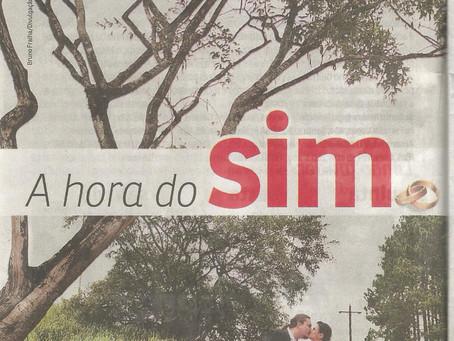 Matéria no Jornal Agora