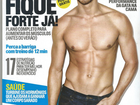 Matéria na revista Men's Health
