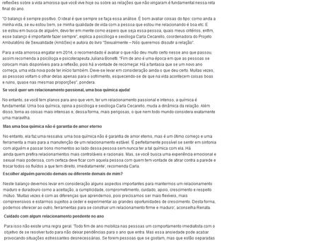 Matéria no Portal MSN