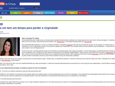 Matéria no Jornal Diário de S. Paulo