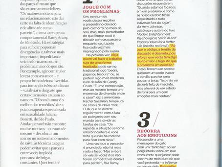 Matéria na revista Women's Health