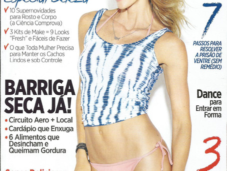 Matéria na revista Women's Health