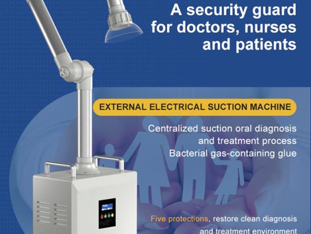 How to choose effective extraoral aerosol suction machine