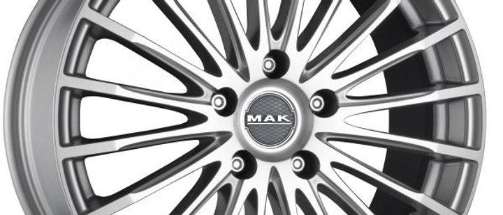 MAK Fatale Silver / Matt Black / Ice Black