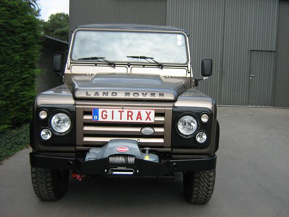 Land Rover Defender Gitrax