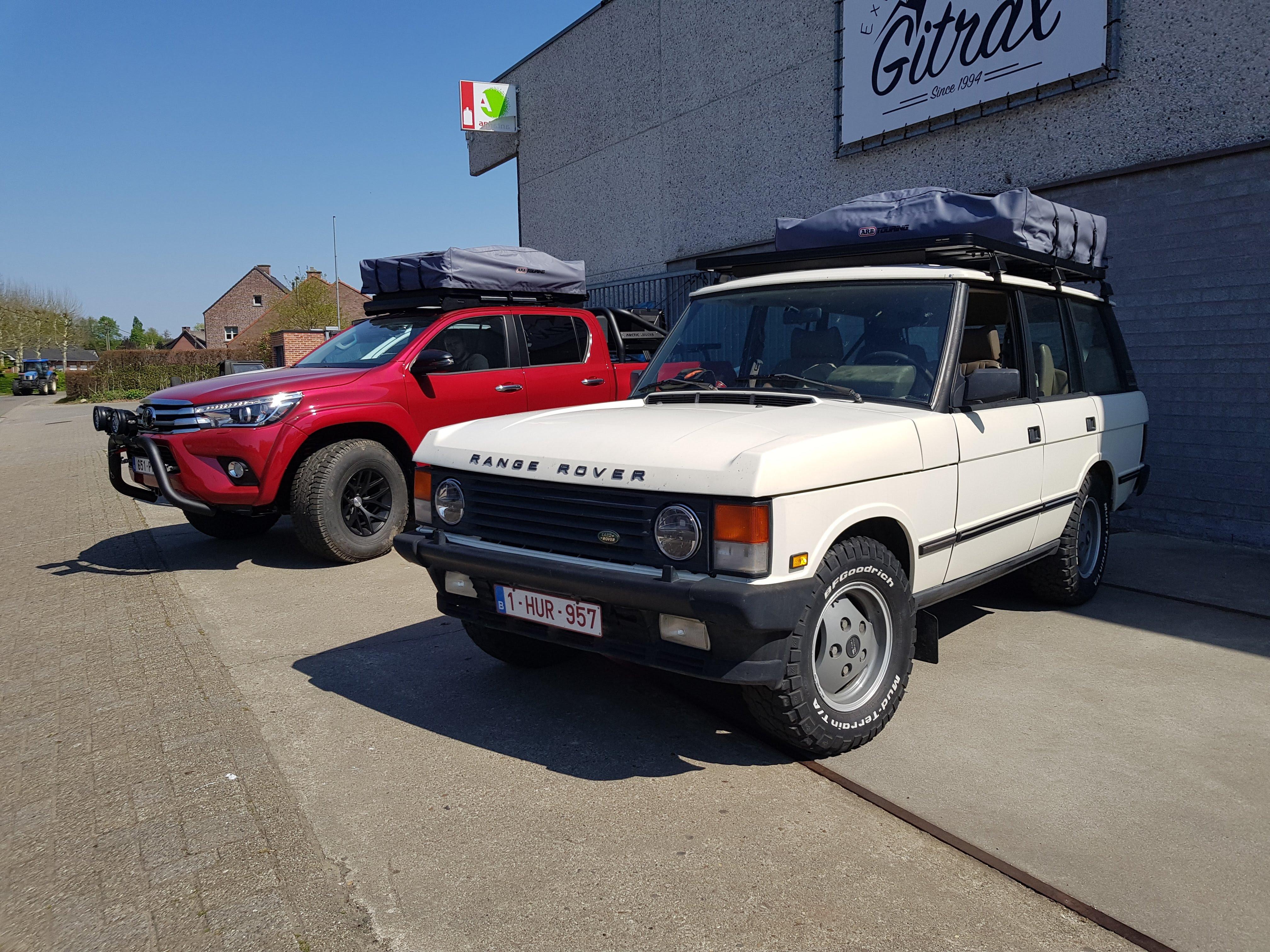 Gitrax Range Rover