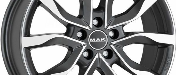 MAK Highlands Gun metal mirror / Silver / Black mirror / Matt Black