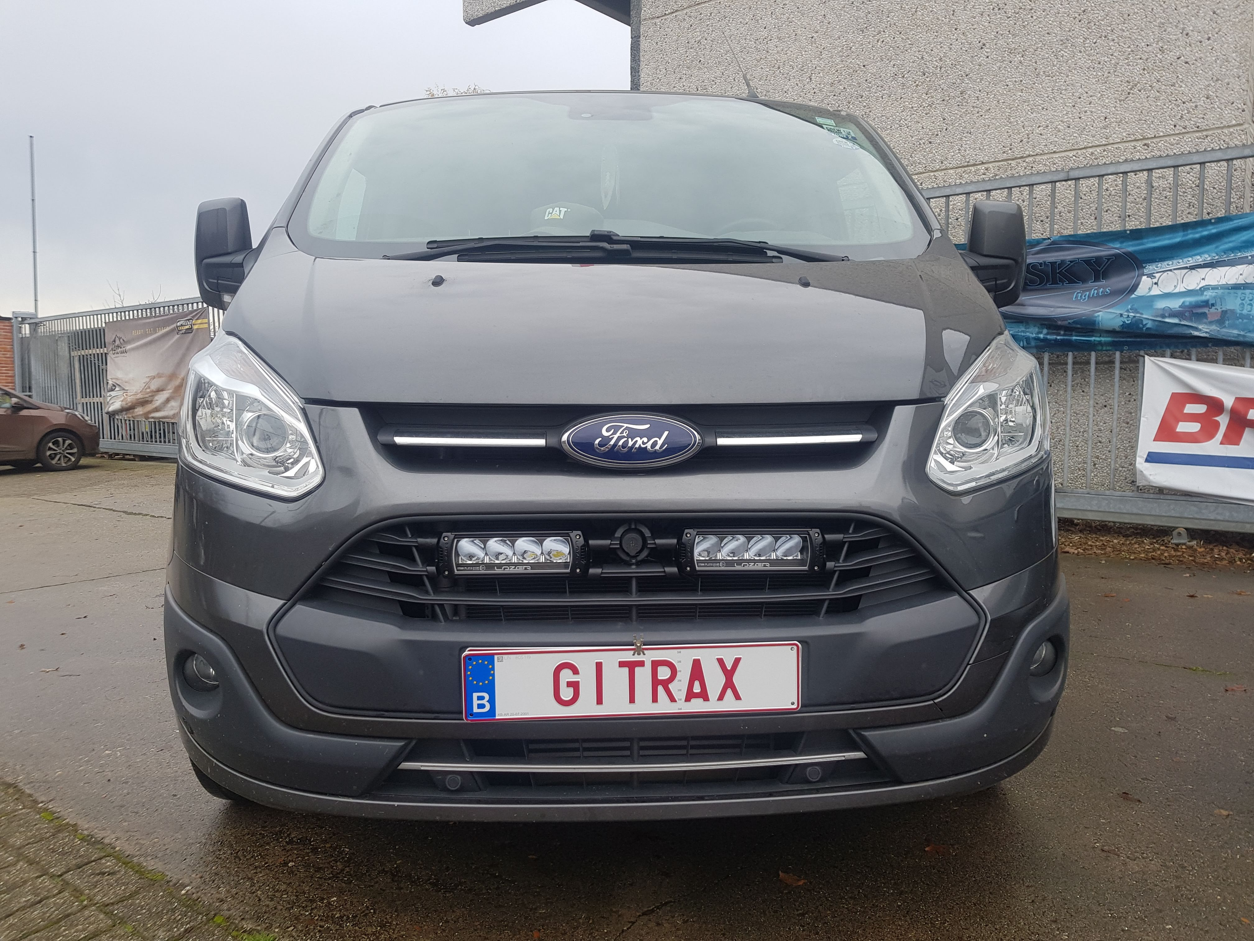 Gitrax Ford Transit Custom