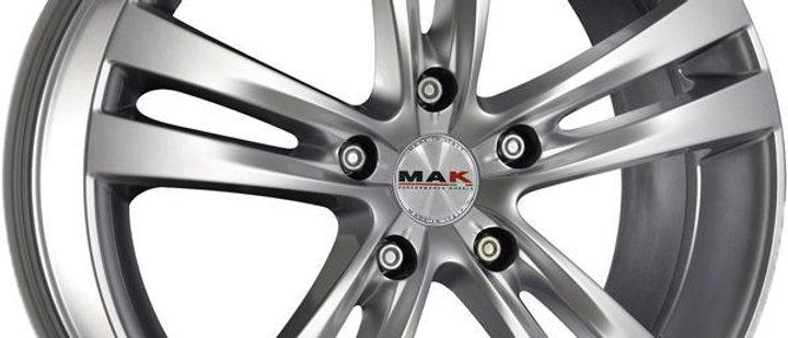 MAK Zenith Silver / Matt Black