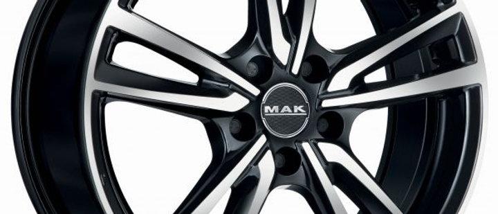 MAK Icona ice black / Matt titan / silver