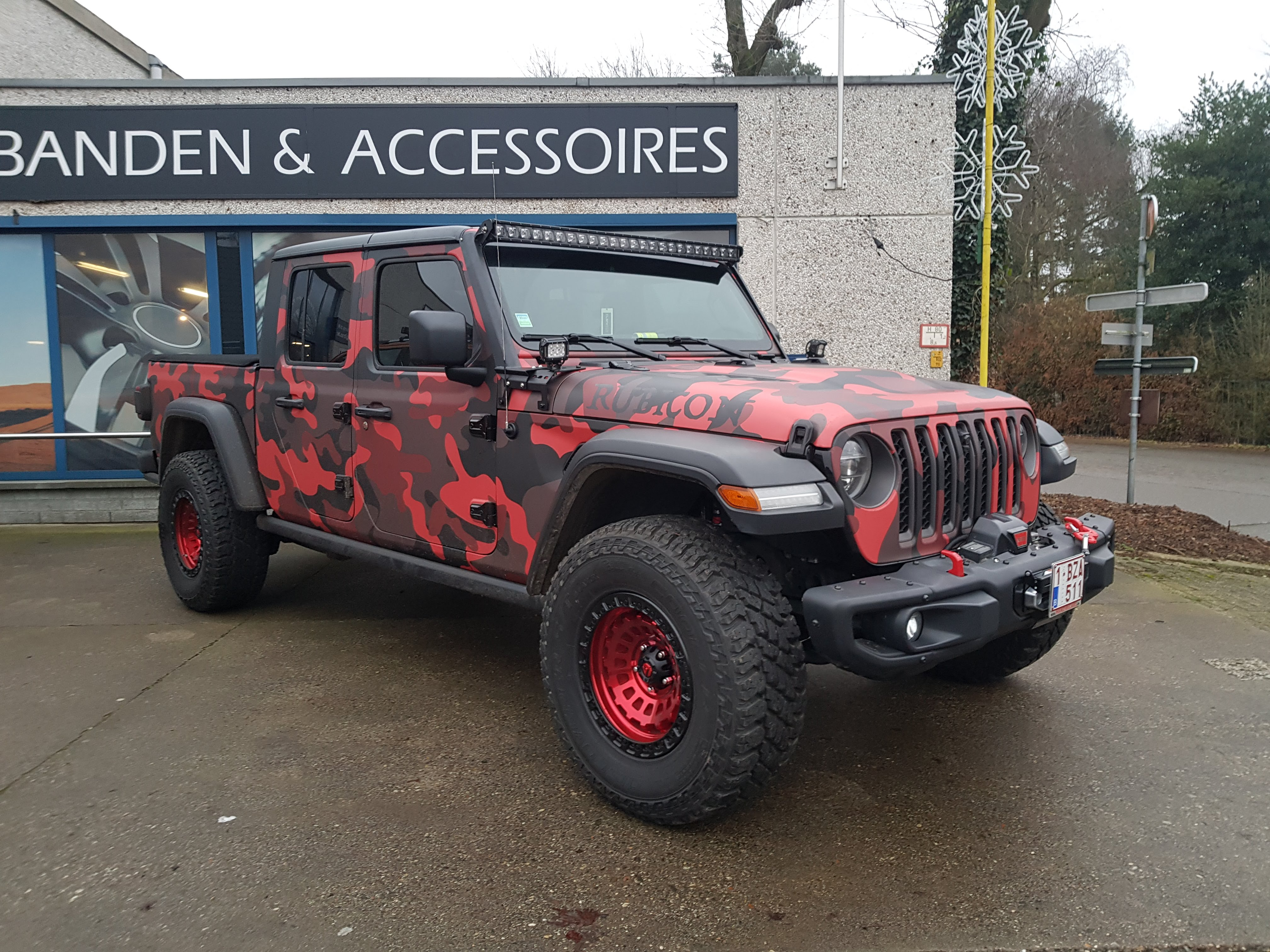 Jeep Gladiator Gitrax