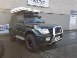 Gitrax Toyota Land Cruiser