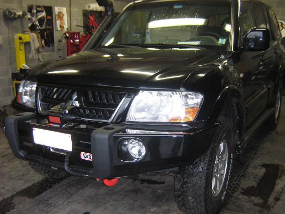 Mitsubishi Pajero Gitrax