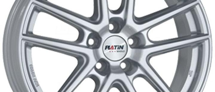 Platin P73 Silver / Racing black / Black polished