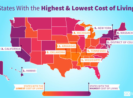 Low vs. high cost-of-living regions: which is better for real estate investment?