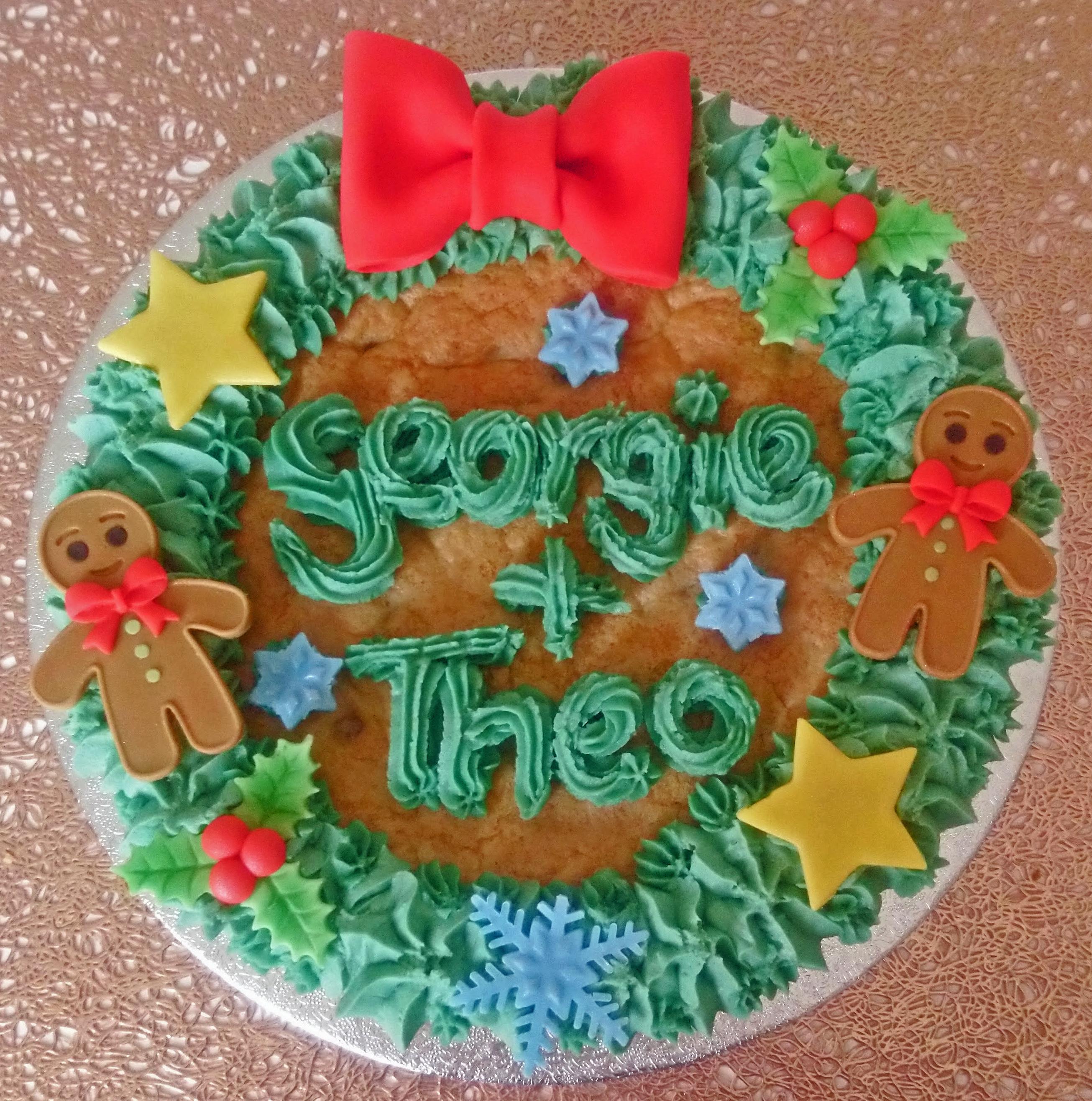 Christmas Giant Cookie 2