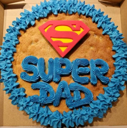 Super Dad Giant Cookie