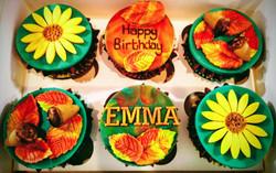 Autumn Themed Cupcakes