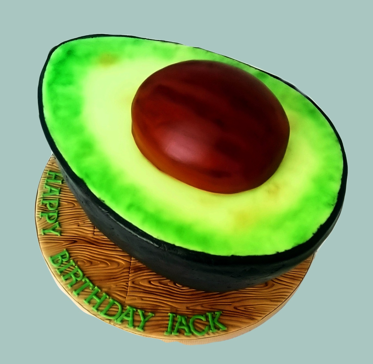 Giant Avocado Cake