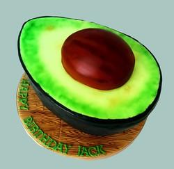Giant Avocado Cake